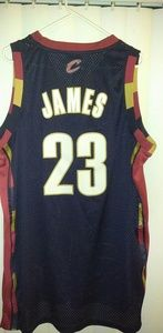 best loved 3de49 5f49b Cleveland Cavaliers Retro LeBron James Jersey